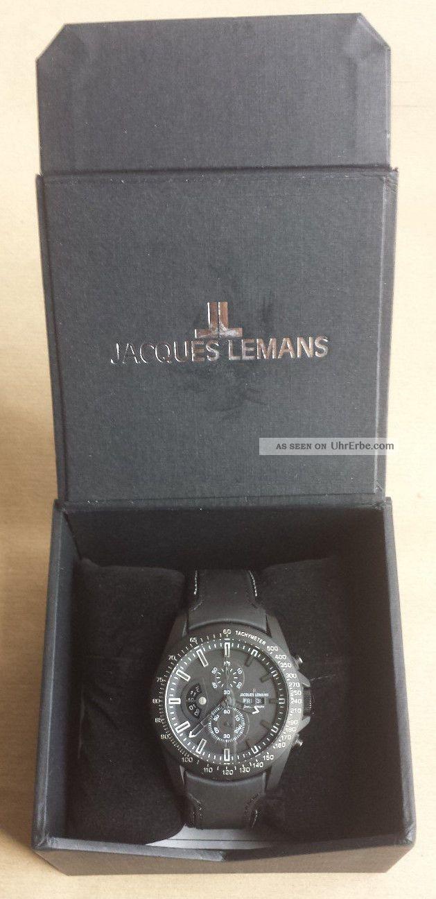 Jacques Lemans Sports Liverpool Gmt Armbanduhr Für Herren (1 - 1635c) Armbanduhren Bild