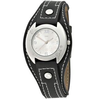 Jobo Damenuhr Damenarmbanduhr Uhr Quarz - Analog Armbanduhr Lederband J - 37324 Bild