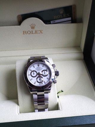 Rolex Daytona Oyster Perpetual Cosmograph.  116520,  Aus 09.  2013,  Lc100 Bild