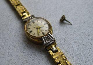 Anker Damenuhr 585 Gold 14 Karat 17 Rubis - Goldplated Bild