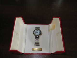 Quartz - Herrenarmbanduhr Von Cartier