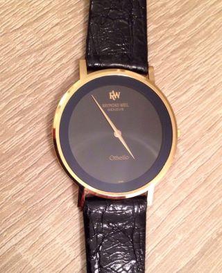 Raymond Weil Othello Geneve Uhr 1x Getragen Neuwertig Made In Swiss Bild