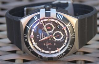 Omega Constellation Double Eagle Co - Axial Chrono Missions Hills World Cup Bild
