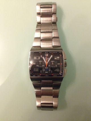 S.  Oliver Herren Armbanduhr Chronograph Silber Bild