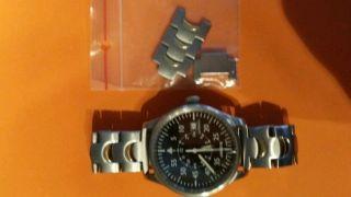 Junkers Ju 52 Armbanduhr Für Herren (6204 - 3) Bild