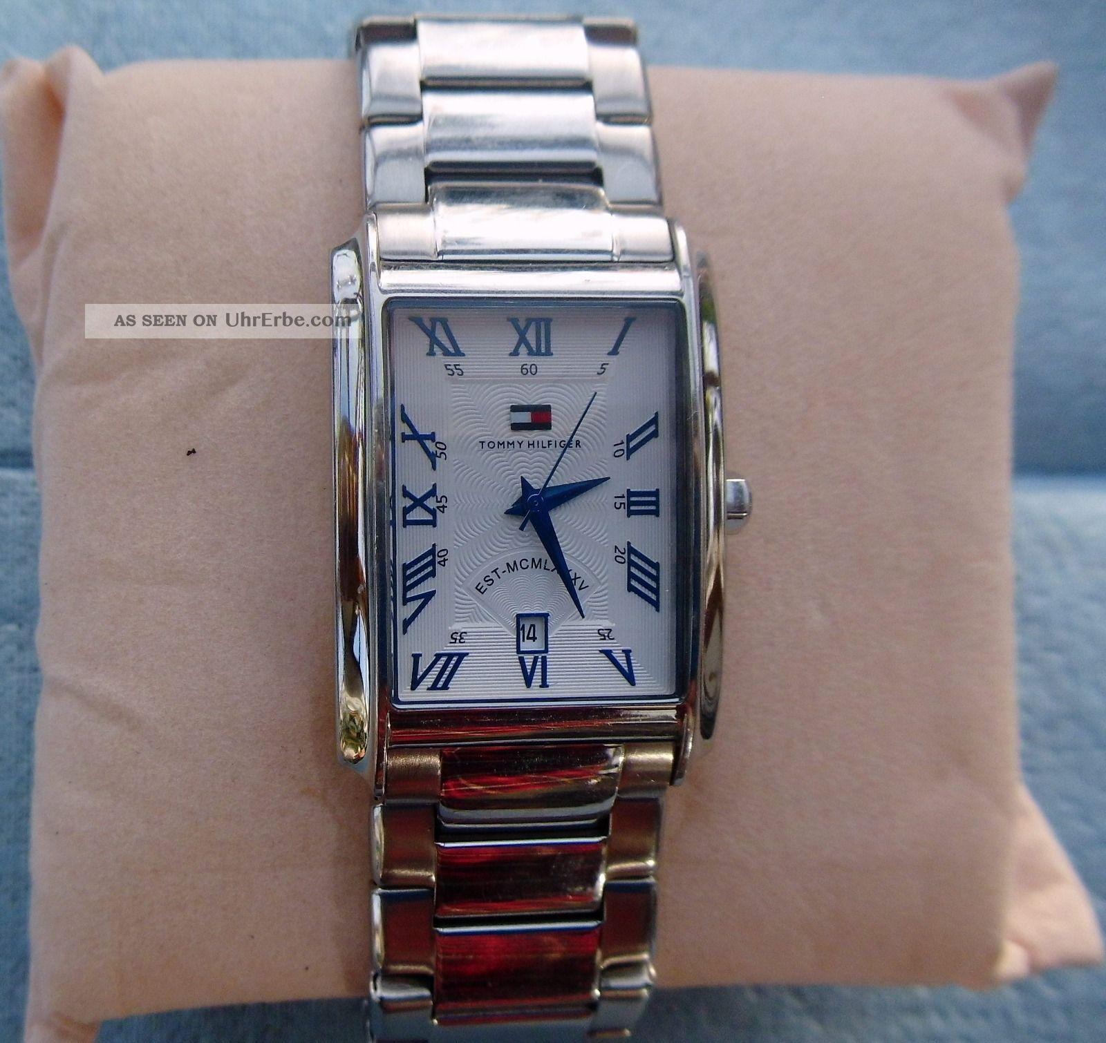 Tolle Herrenuhr Tommy Hilfiger Th.  17.  1.  14.  0662 Armbanduhren Bild