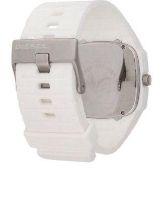 Diesel Herrenuhr Quarz Uhr Dz1321 Weiß - Und Ungetragen Mit Ovp Bild