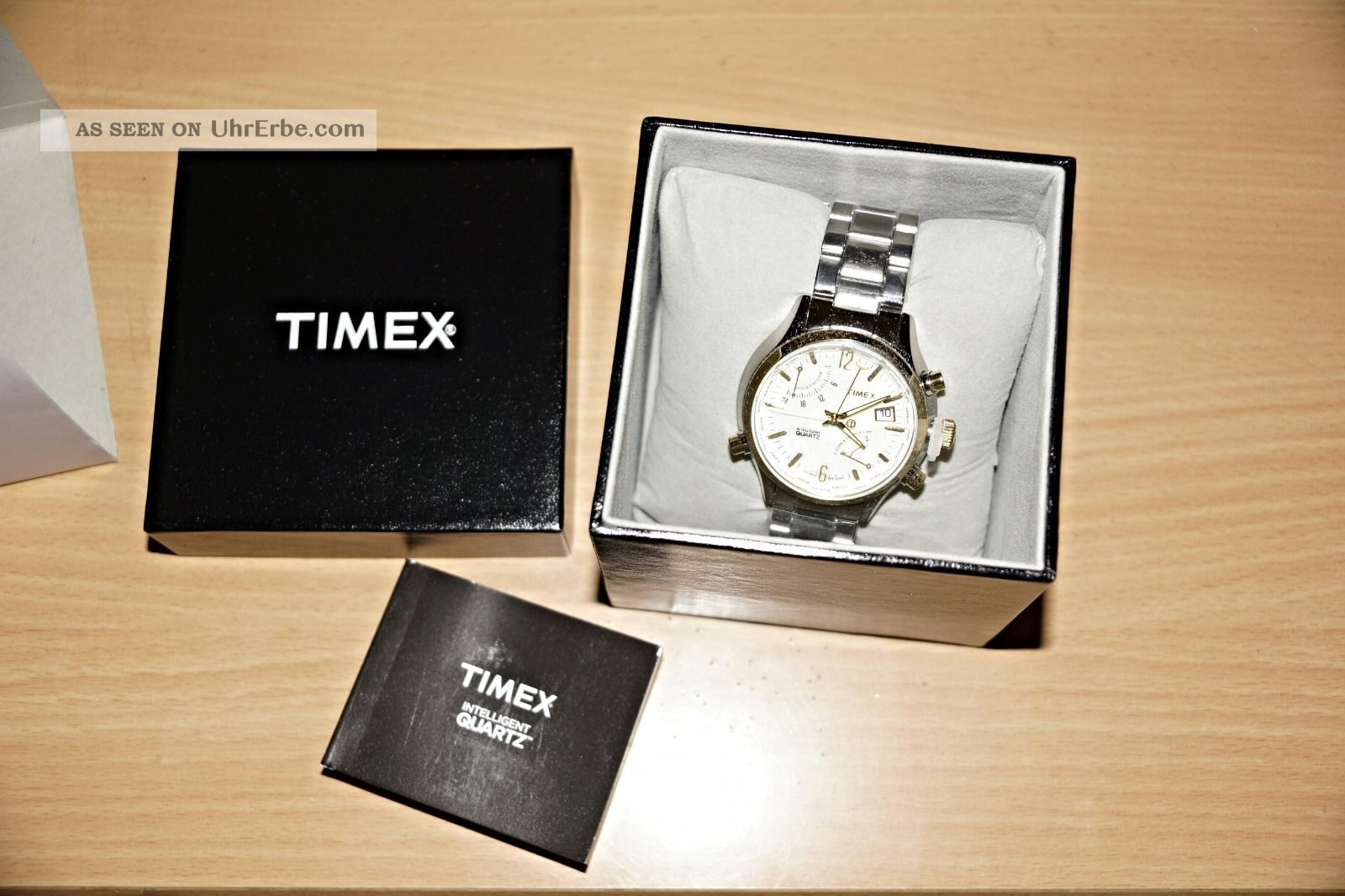 Timex Iq World Time T2n945 Armbanduhren Bild