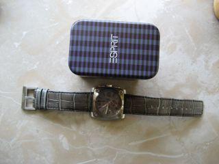 Esprit Quarzuhr Chronograph Retro Chic Ovp - Neuwertig Bild