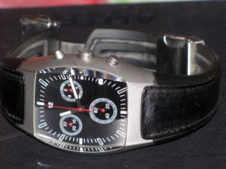 RaritÄt Bmw Design Chronograph Hau Herrenuhr Ventura Swiss Saphireglas Vintage Bild