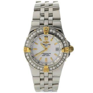 Breitling B71340 Windrider Starliner - Diamanten Damen Uhr Bild