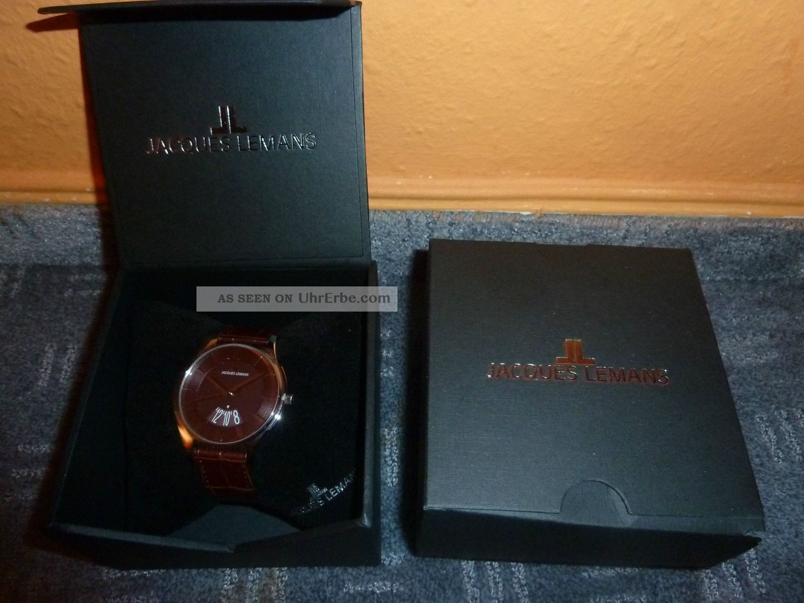 Jacques Lemans London 1746d Uhr Armbanduhr Top Ovp Stylish Armbanduhren Bild