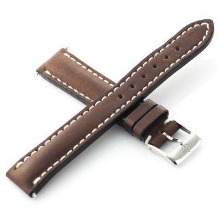 Armbanduhr Riemen Breitling 410x Authentisch Braun 16 - 14mm Schweiz Bild