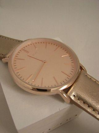 Oozoo Uhr Ultra Slim C6946 Ø Ca.  40 Mm Vintage Rose Neuheit Armbanduhr Bild
