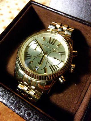 Michael Kors Uhr,  Gold Bild