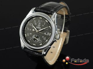 Goer Chrono Automatik Mechanisch Armbanduhr Herrenuhr Bild