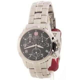 Herren Armbanduhr Wenger Chronograph Swiss 79136 Gst Edelstahl Bild