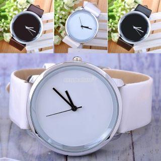 Mode Quarz - Armbanduhr Kristall Leder Uhr Sport Analog Damen Dial Frauen Eh Bild