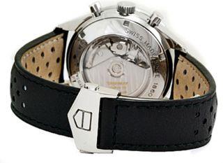 Armbanduhr Herren Tag Heuer Carrera Cv2011.  Fc6205 Automatik Leder Uhr Bild