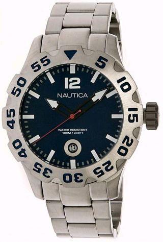 Nautica N17569g Bfd 100 Luminous Marker Herrenuhr Bild