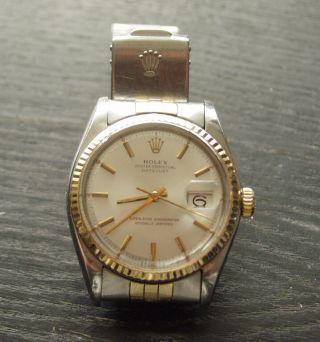 Rolex Datejust Stahl/gold 36mm Ref.  1601 Bild