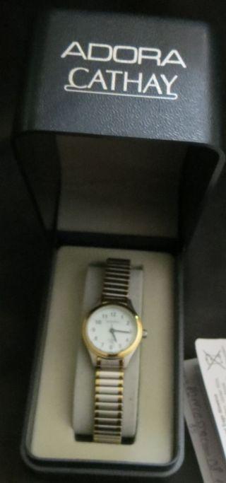 Armbanduhr Damen Uhr Adora Cathay - 5 Bar Edelstahl Bild