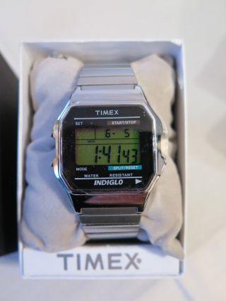 Timex T78587 Digital Armbanduhr Digital Quarz,  2.  Gratis Uhr Silber Unisex Bild