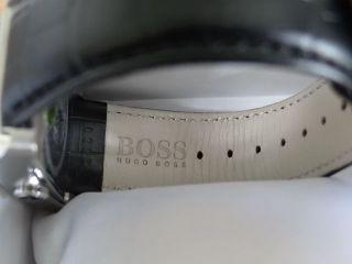 Hugo Boss 1512707 Armbanduhr Für Herren Schwarz Silber & Ungetragen Bild