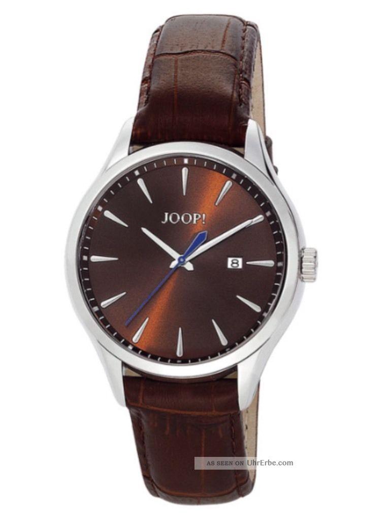 Joop Herren - Armbanduhr Xl Composure Analog Quarz Leder Jp100701f01 Uvp199€ Armbanduhren Bild