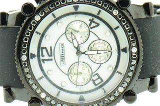 Herren - Diamantuhr Jojino Joe Rodeo,  2.  25ct,  Schwarz - J1172a Bild