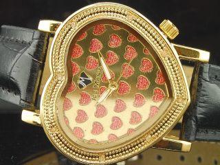 Damen - Diamantuhr Ice Mania Jojo Jojino Joe Rodeo Secret Heart,  Gelb - Im1305y Bild