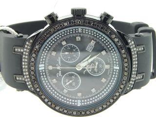 Armbanduhr Herren Reihe Solitaire Schwarz Diamant 2,  65 Kt Jjm74 Joe Rodeo Master Bild