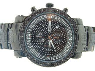 Herren Jojino/jojo/joe Rodeo Diamant Uhr Verknallt Wahl.  25ct Ionen - Finish Bild