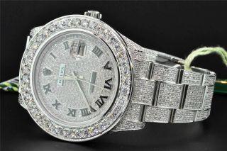 Armbanduhr 2 Diamanten Kundenspezifisch Rolex Date Just Ii 2 Bild