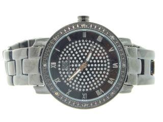 Armbanduhr Damen Techno Jojo Jojino Diamant Rosa Schwarz M5616a Bild
