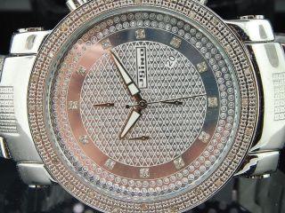 Herren Jojino/jojo/joe Rodeo Diamant Uhr 0,  25ct Glänzend.  Zifferbl.  50mm Mj - 1101 Bild