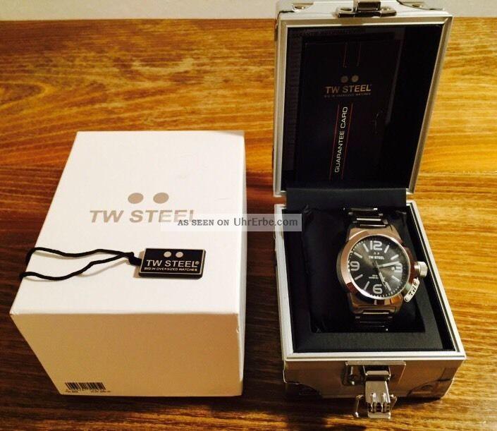 Tw Steel Armbanduhr Tw 300 - Canteen Style Armbanduhren Bild
