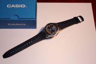 Casio Fishing Gear Armbanduhr Für Herren Modell Aw - 82 Neuwertiger Bild