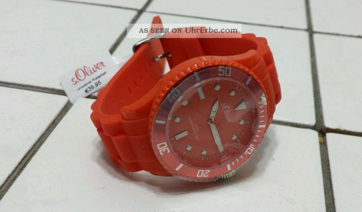S Oliver So - 2303 - Pq Armbanduhr Für Unisex Armbanduhren Bild