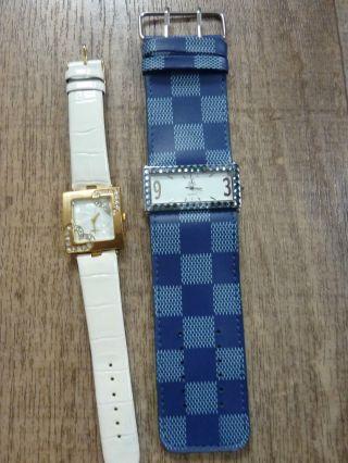 Zwei Damen Armbanduhren Neuwertig Bild