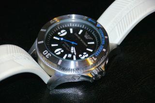 Emporio Armani Ea Herren Armbanduhr Analog Weiß Ar0627 10atm Bild