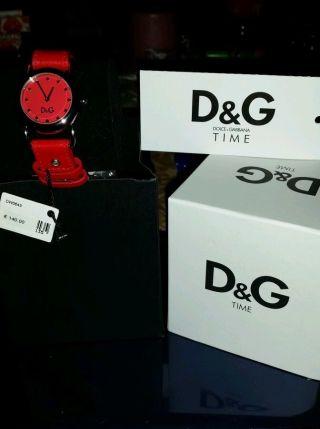 Dolce Gabbana Damenuhr Dw6403 Rot Bild