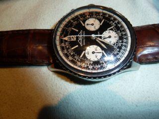 Rarität Breitling Navitimer 806 Aopa Venus 178 Mechanisch Von 1974 Bild