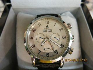 Carucci Ca 2136slherren Automatik Uhr Ungetragen Bild