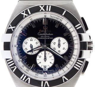 Armbanduhr Herren Omega 1519.  51.  00 Constellation Doppel Adler Chronograph Bild