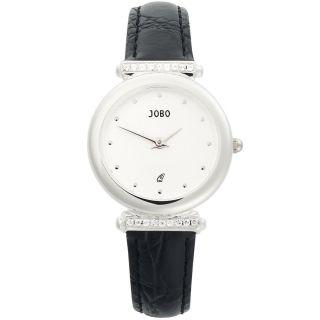 Jobo Damenuhr 925 Sterling Silber Damenarmbanduhr Uhr Quarz Armbanduhr J - 35736 Bild