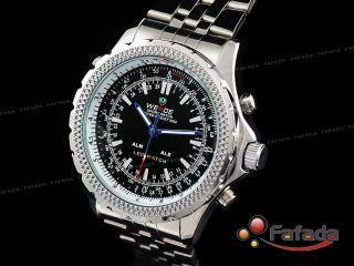 Weide Xxxl Led Digital Dual Herrenuhr Armbanduhr Uhr Bild