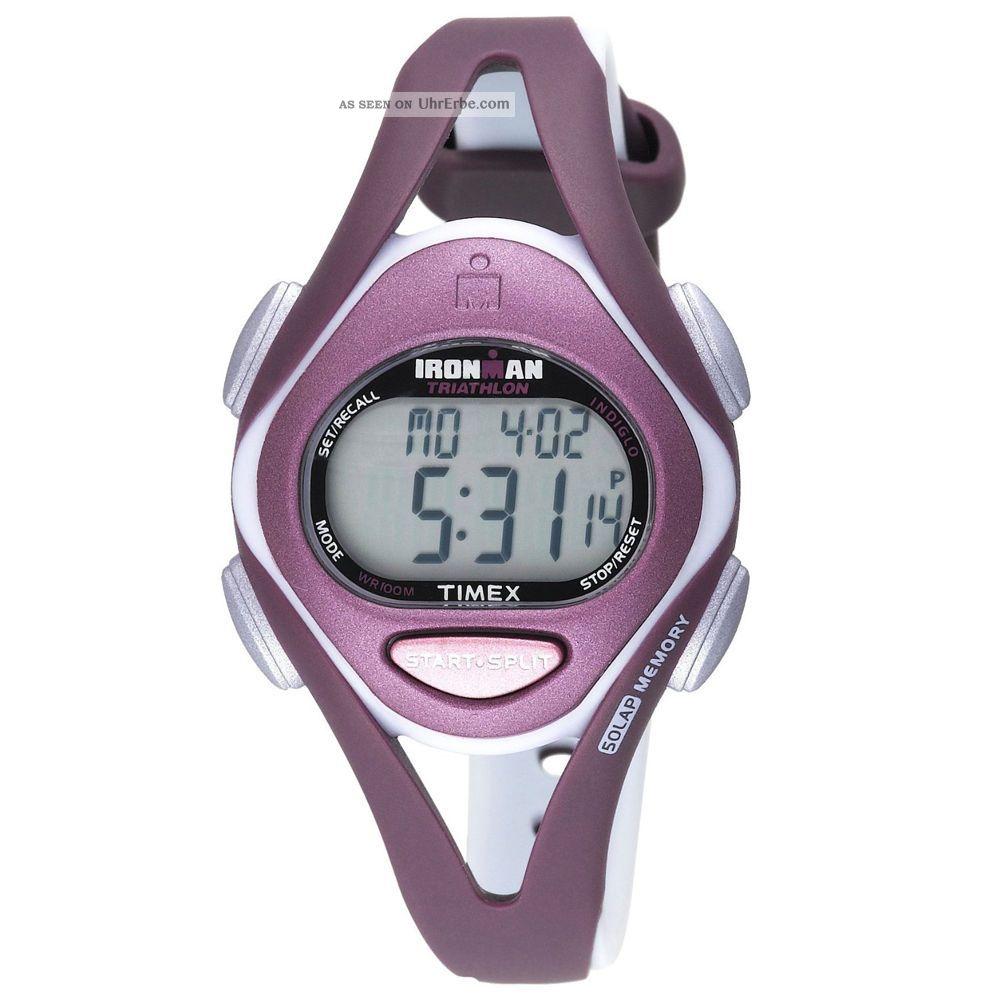 Timex T5k007 Damen ' S Ironman Sleek 50 - Knietablett Digital Dial Kunstharz Armbanduhren Bild