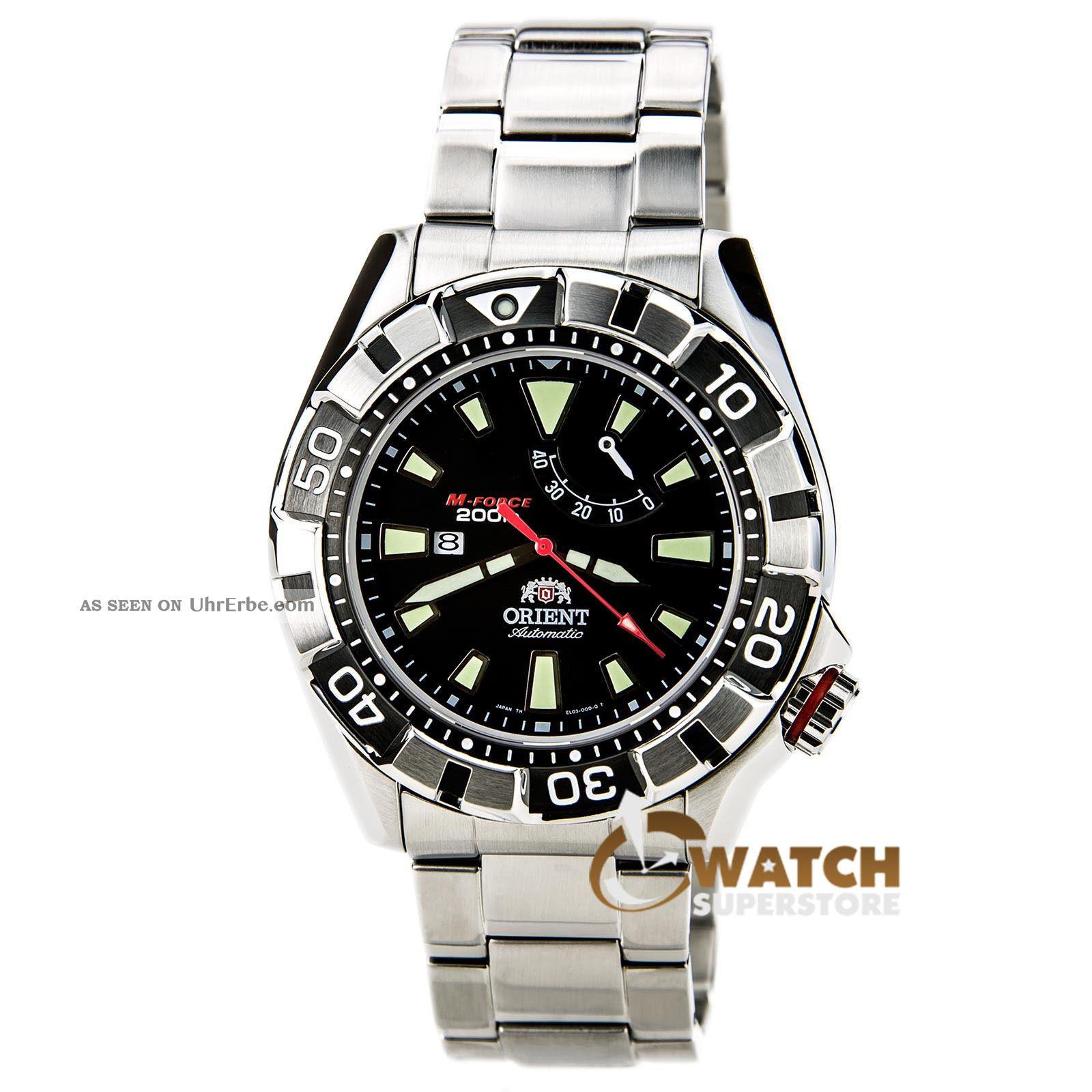 Orient Sel03001b Herrenuhr Automatik Uhr Armbanduhr Armbanduhren Bild