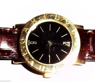 Bulgari Bvlgari Automatik Uhr B Zero 750/000 Gelbgold (18 K) Neuw Bild